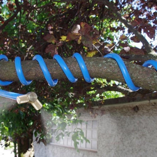 Mise en situation du brumisateur de jardin personnel Cobra