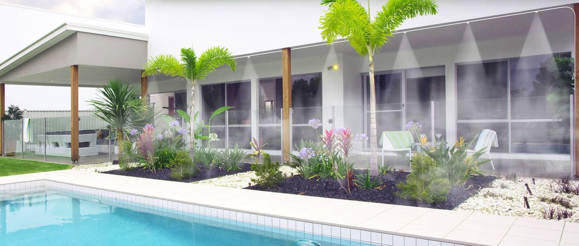 rafraichir votre terrasse avec les brumisateurs de terrasse o 39 fresh. Black Bedroom Furniture Sets. Home Design Ideas