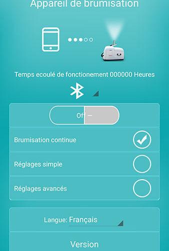Impression écran 2 Application Brumisateur Haute Pression O'Fresh